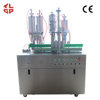 Quality Semi Automatic Hair Spray Aerosol Filling Machine 5000-8000cans/shift wholesale
