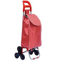 China STB Trolley Dolly Stair Climber bag, Shopping Grocery Foldable Cart Condo Apartment Elderly Triple wheels on sale