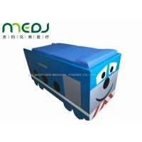 Buy cheap Manual Control Medical Exam Bed Two Sections Pediatric Table With Soft Mattress from Wholesalers