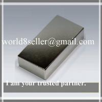 China Super N52 Neodymium NdFeB Quadruple-Coated block Rare Earth Magnet for Wind Generator etc on sale