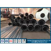 Quality 65FT Anti-corrosive Polygonal Steel Metal Utility Poles for Electric Power Line wholesale