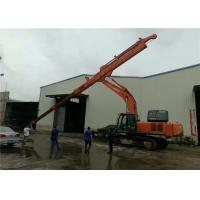 Special Work Site Excavator Telescopic Boom 28 Meter Digging Depth Heavy Weight