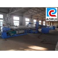 Buy cheap Steady Plastic Board Extrusion Line / Three-layer WPC Construction Template Production Line from wholesalers