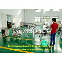 High Capacity Liquid Filling Equipment Linear Filling Machine Servo / Electric
