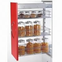 Buy cheap Kitchen Cabinet Organizer, Storage, Pull-out, Wire Baskets, Chrome-plated, Soft Closing from Wholesalers