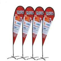 Buy cheap Custom printing Feather Flag Banners for exhibition and promotion from Wholesalers