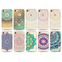 Buy cheap Flower Decorated Uv Printing Design Custom Made Phone Cases Tpu For iPhone from Wholesalers