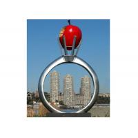 Buy cheap Park Garden Decoration Stainless Steel Modern Monumental Sculptures from wholesalers