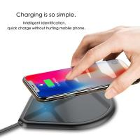 Buy cheap WIRELESS CHARGER PAD Ultra Slim Aluminum Fast Qi Wireless Charger Pad from wholesalers