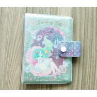 Buy cheap Luxury Travel Card Holder / Glittering PVC Notepad Or Diary Book Protective Cover from wholesalers
