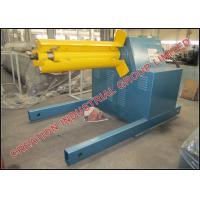 China 5 Ton Electrical Decoiler Roll Forming Machine Parts 3 x 1.5 x 1.5 Meters on sale
