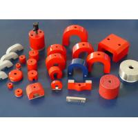 Buy cheap Fixed Magnetic Assemblies , Strong Painted Horseshoe Magnet from wholesalers
