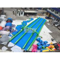 Buy cheap Long single Or Double Lane Inflatable Slide City 1 - 2 Years Warranty from wholesalers
