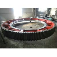 Buy cheap Custom Straight Toothed Large Diameter Gear Ring / Pinion Gears With CNC Machining from Wholesalers