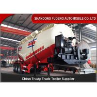 Buy cheap 3 axles Dry Bulk Trailer Powder Cement Tanker Semi Trailer With 25ton-40ton from wholesalers