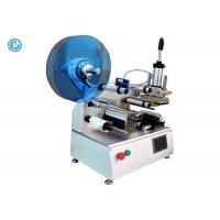 China Semi Automatic Cable Labeling Machine , Stainless Steel Wire Labeling System on sale