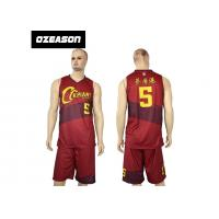 Buy cheap Hotsale Sublimated Custom Quick Dry Basketball Jersey Wear For Sale from Wholesalers