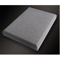 Buy cheap Chamfer Angle Insulation Acoustic Fabric Panels / Wall Covering Board from Wholesalers