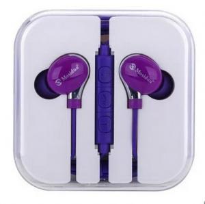 China Sports Super Bass Headphone Promotional Headphone Purple Rotatable Earphones on sale