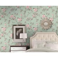Buy cheap Eco - Friendly European Style Wallpaper Fancy Floral Pattern Chinese Factory from Wholesalers
