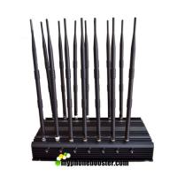 Buy cheap 14 Antennas 35W high power car remote control mobile signal blocker jammer 433mhz, 315mhz, 868mhz Adjustable from Wholesalers