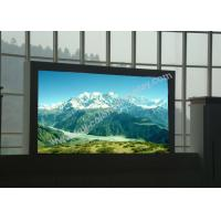 Buy cheap Clear Tri color P6 Large Led Display Panels scan 1/16 High Contrast CE RoHS from Wholesalers