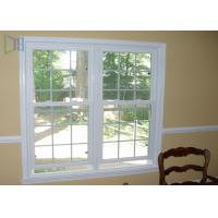 Quality Heat Insulation Vertical Opening Windows , Double Hung Replacement Windows wholesale