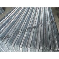 Buy cheap V Type Expanded Metal Lath , Civil Building Metal Rib Lath Height 6-10mm from Wholesalers
