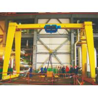 Buy cheap Light Duty 2 - 10Ton Single Girder Electric Gantry Crane With Wire Rope Hoist For Machinery Mills , Warehouse from Wholesalers