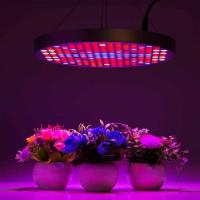 Buy cheap Marijuana UFO LED Grow Lights With Alluminum / PC Materials , Dia 33x H3 cm from Wholesalers