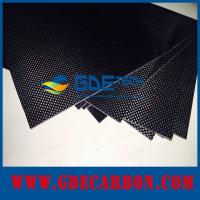 Buy cheap customized CNC PURE carbon fiber sheet 2mm from Wholesalers