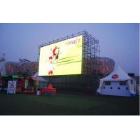 Buy cheap 7500 High Brightness Outdoor Advertising Led Display Screen 6mm Pixels from Wholesalers