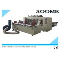 Buy cheap Automatic Feeder Paper Thin Blade Slitter Scorer For Corrugated Sheet 2500mm from Wholesalers