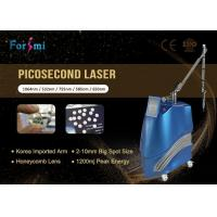 Buy cheap nd:yag laser pico 1064nm/532nm ; 585nm/650nm/755nm Optional pico second q from wholesalers