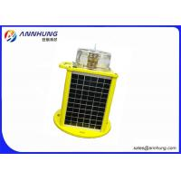 Quality Strong Corrosion Resistance Solar Powered Airport Light / Airport Runway Lights wholesale