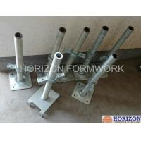 Buy cheap Q235 Steel Scaffold Screw Jack , Scaffolding Adjustable Base Jack Painted Surface from Wholesalers