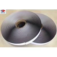 Buy cheap 25MM Sticky Self Adhesive hook and loop tape roll / touch and close fastener Long Circle Life from Wholesalers