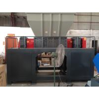 Buy cheap Waste tyre cutting machine car tire crushing washing drying automatic waste tire recycling machine  Strong double shaft from wholesalers