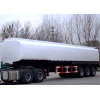 Quality 40 - 45CBM Fuel / Oil Tank Semi Trailer Truck  Aluminum and stainless steel optional for sale