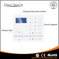 Buy cheap APP Diy Home Alarm Systems control Touch Keypad GSM With Smart Door Sensor from wholesalers