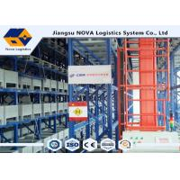 Quality ISO Automated Pallet Racking Systems ASRS, High Density Heavy Duty Cantilever Racking wholesale