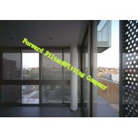 Buy cheap Stainless Steel 304 / 316 Perforated Perforated Metal Plate For Buildings from Wholesalers