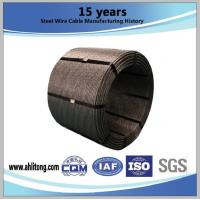 """0.5""""(12.7mm)&0.6""""(15.24mm)Steel Strand ,Uncoated Seven-Wire for Prestressed Concrete"""
