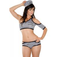 Quality Robber Penitentiary Penny Prisoner Halloween Adult  Costumes woman sexy wholesale
