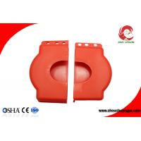 Red Color Cheap Adjustable gate valve cover lockout with different sizes