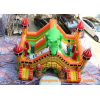Buy cheap Indoor Trampoline Inflatable Dinosaur Bouncy Castle 6 * 5 * 5m Or Customized from wholesalers