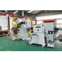 China NC Servo  Roll Feeder Machine , Decoiler And Straightener For Metal Sheet Strip Roll on sale