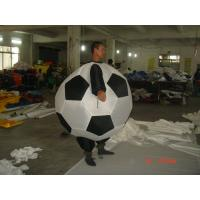 Cheap FR rip stop nylon Adult Inflatable Soccer Advertising Costumes For Promotion for sale