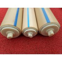 Buy cheap Natural Color Plastic Nylon Rollers Small Power Consumption For Industries , Long Service Life from wholesalers