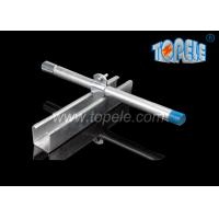 Buy cheap Black HDG Slotted Plain Strut Unistrut Channel To Support Conduits 41X 41MM from Wholesalers